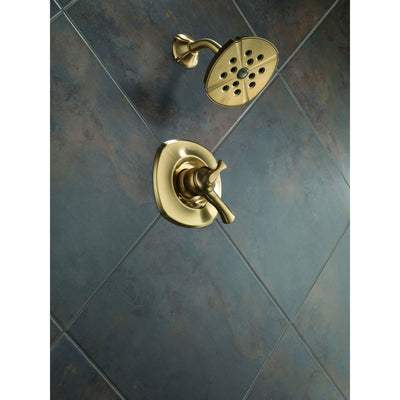 Delta Addison Dual Control Temp/Volume Champagne Bronze Shower Trim Kit 525015