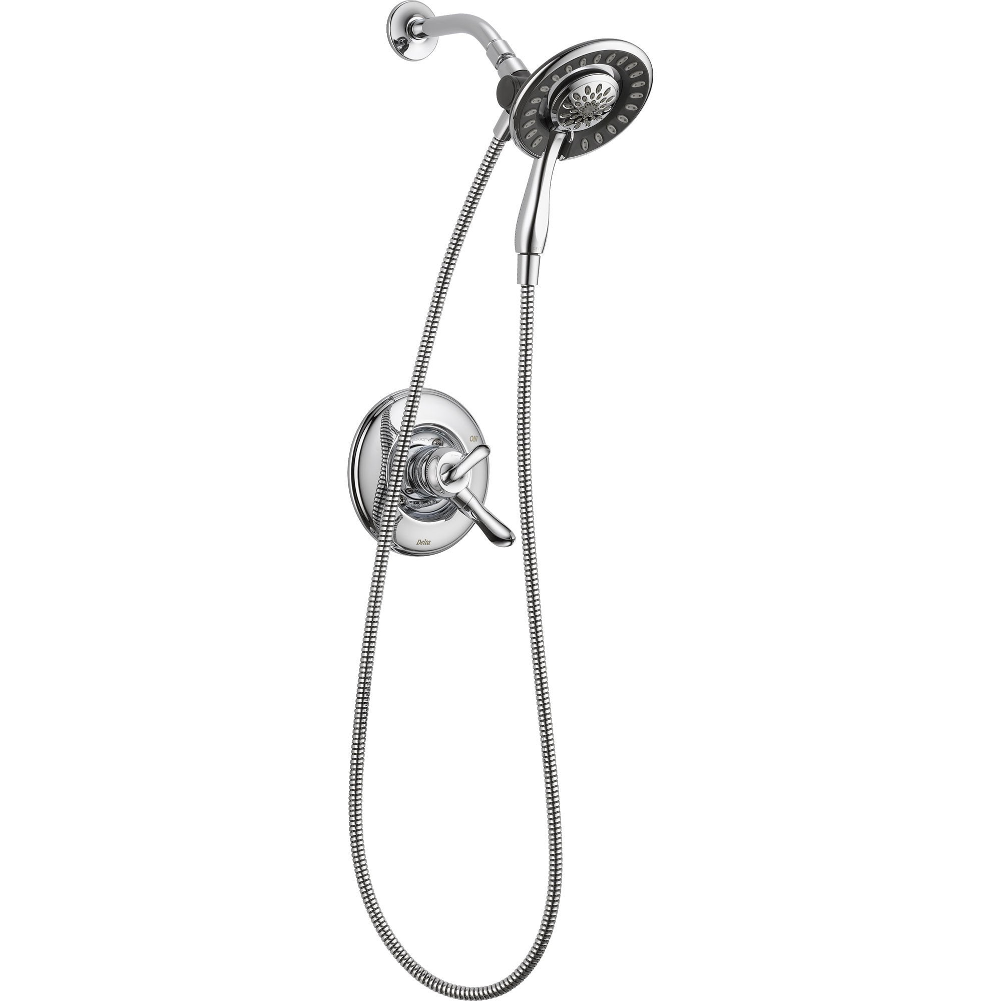 Delta Linden Dual Control Chrome Handheld & Shower Head, Includes Valve D964V
