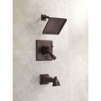 Delta Dryden Temp/Volume Venetian Bronze Tub & Shower Faucet with Valve D441V