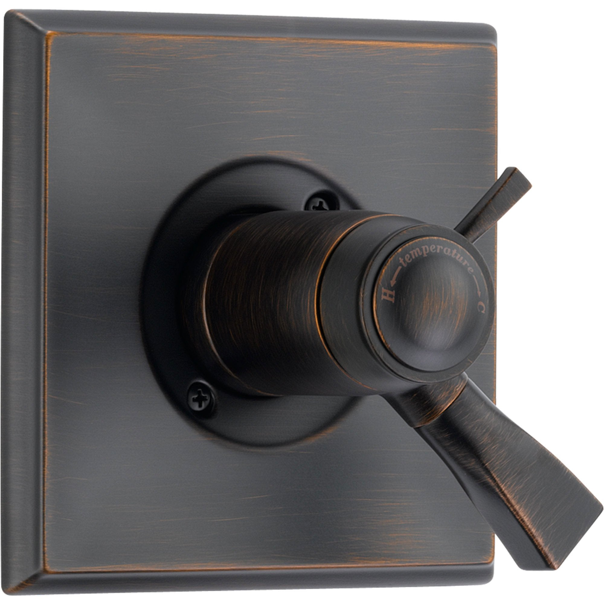 Delta Dryden Venetian Bronze Thermostatic Shower Valve Dual Control Trim 457065