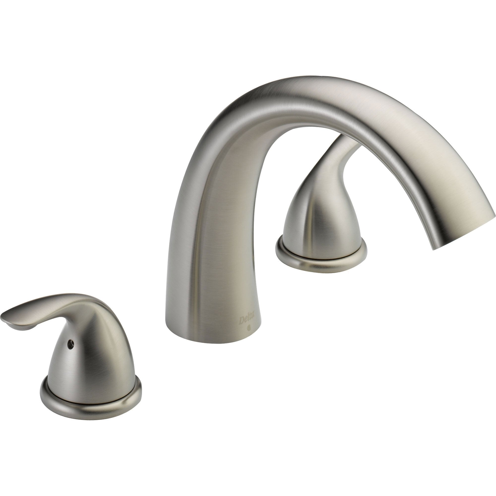 Delta Classic Stainless Steel Finish Roman Tub Filler Faucet Trim Kit 586332