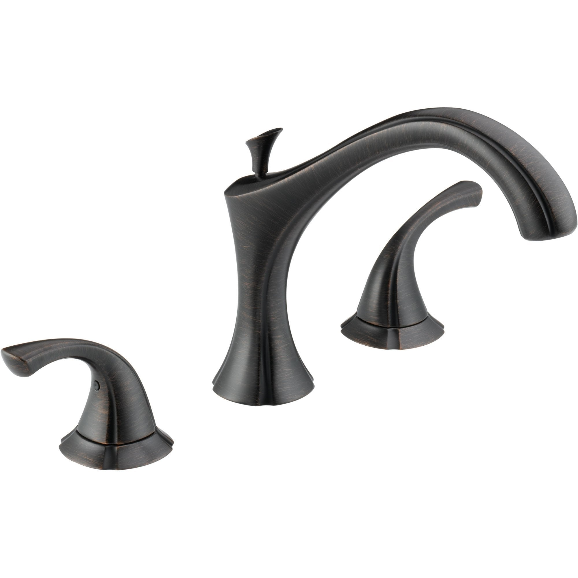 Delta Addison Modern Venetian Bronze Roman Tub Filler Faucet Trim Kit 476455
