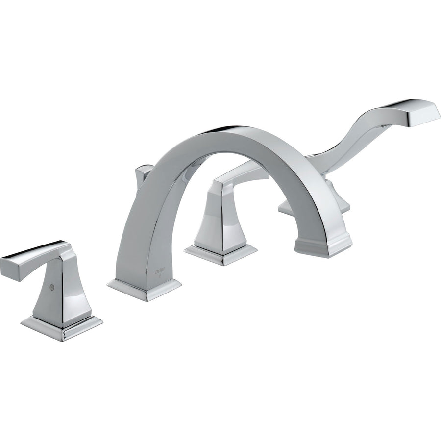 Roman Tub Faucets - Get a Modern Deck Mounted Tub Filler Faucet ...