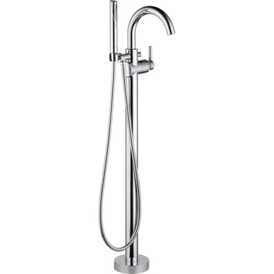 Delta Trinsic Chrome Floor Mount Freestanding Tub Filler Faucet Trim 640256
