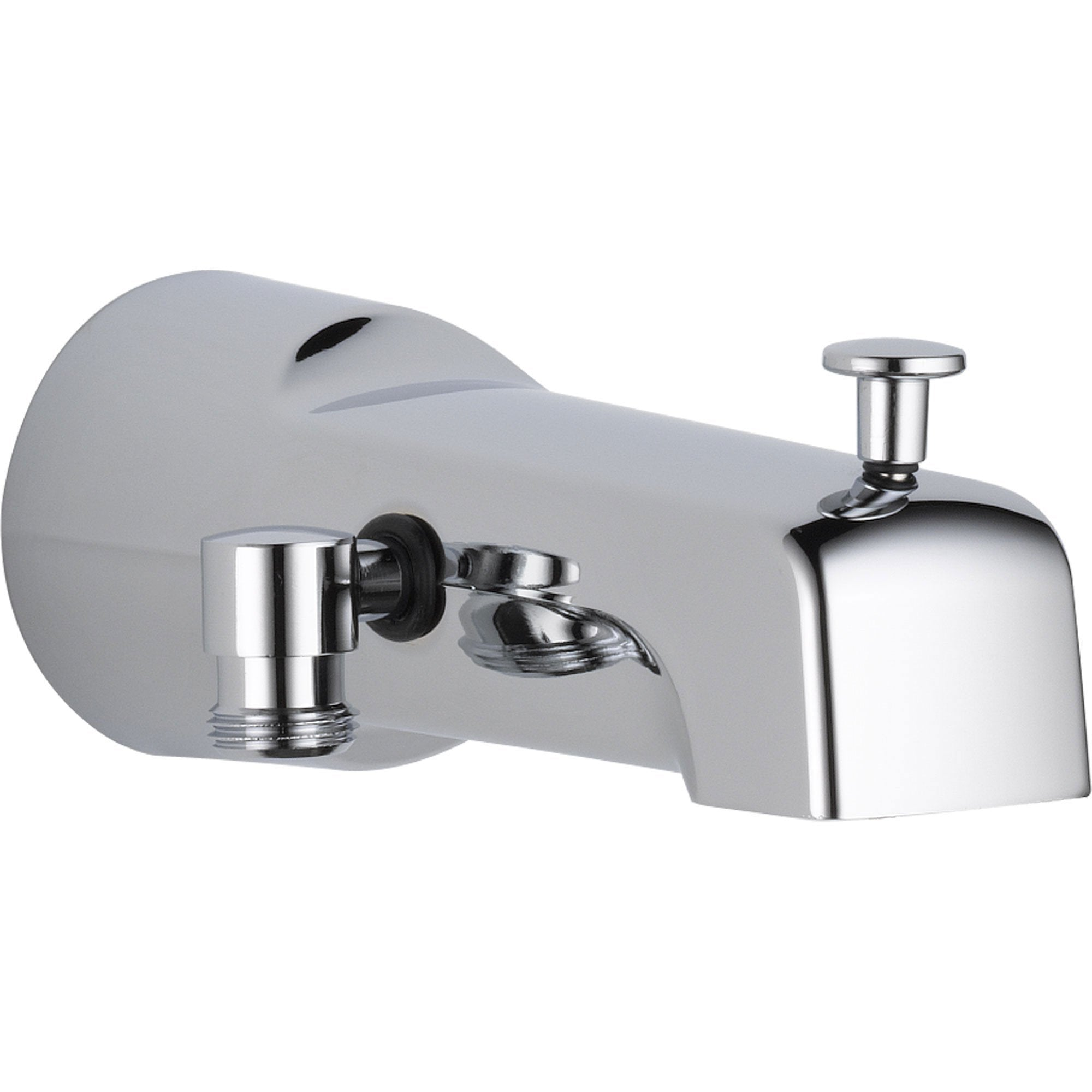 Delta 7.2 In. Long Pull-up Diverter Tub Spout in Chrome 561295