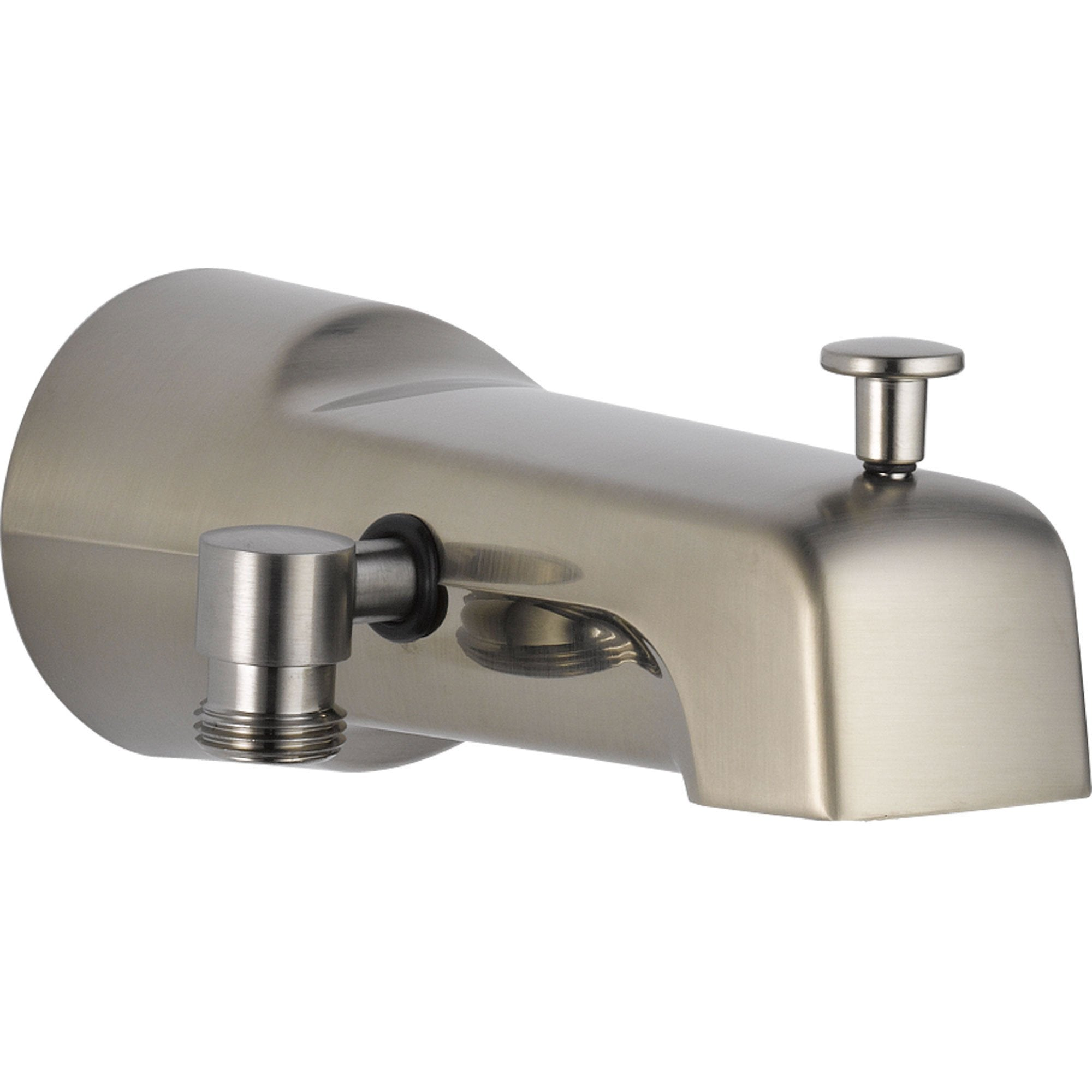Delta Pull-up Diverter Tub Spout in Stainless Steel Finish 561296