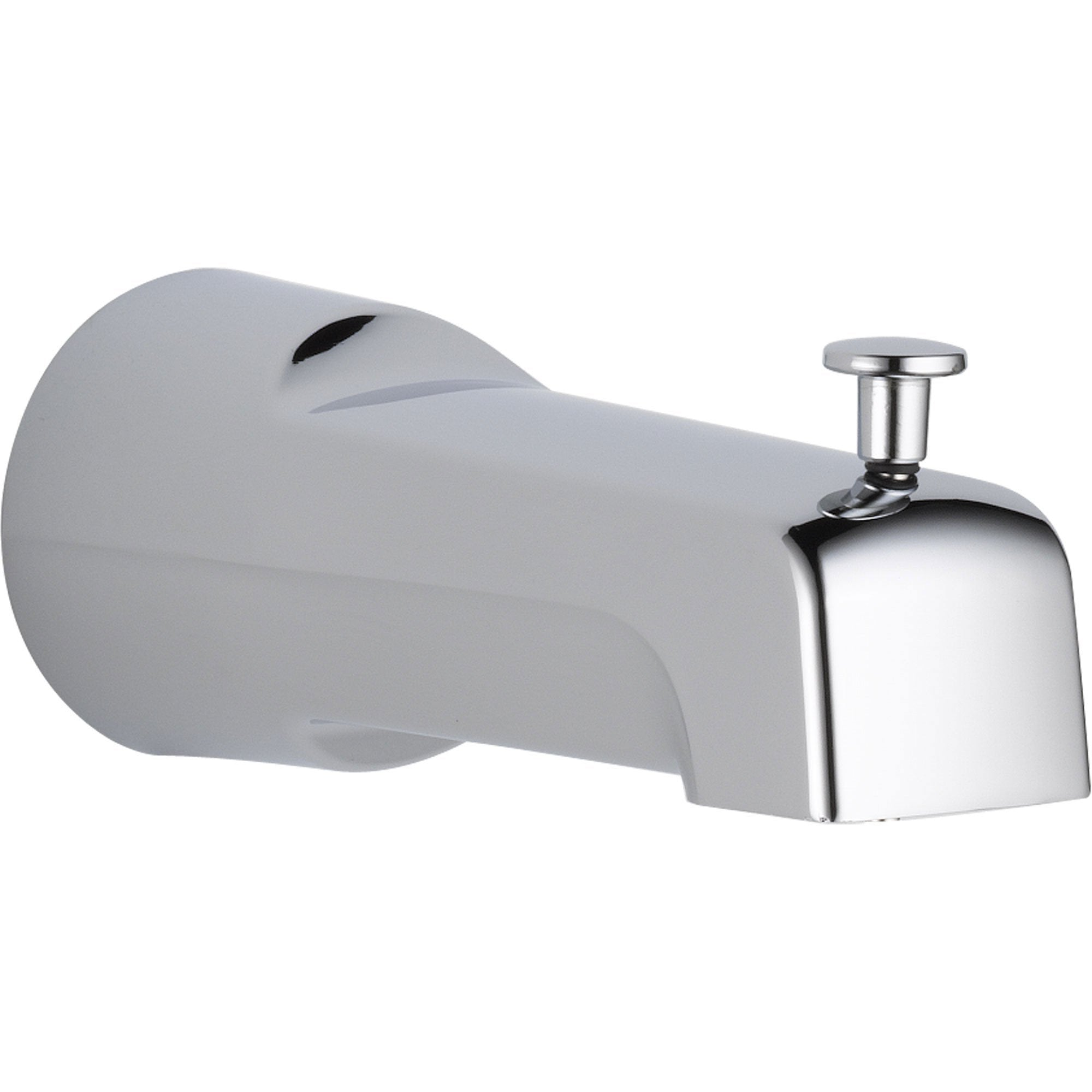 Delta Modern 6.7 In. Long Pull-up Diverter Tub Spout in Chrome 561298