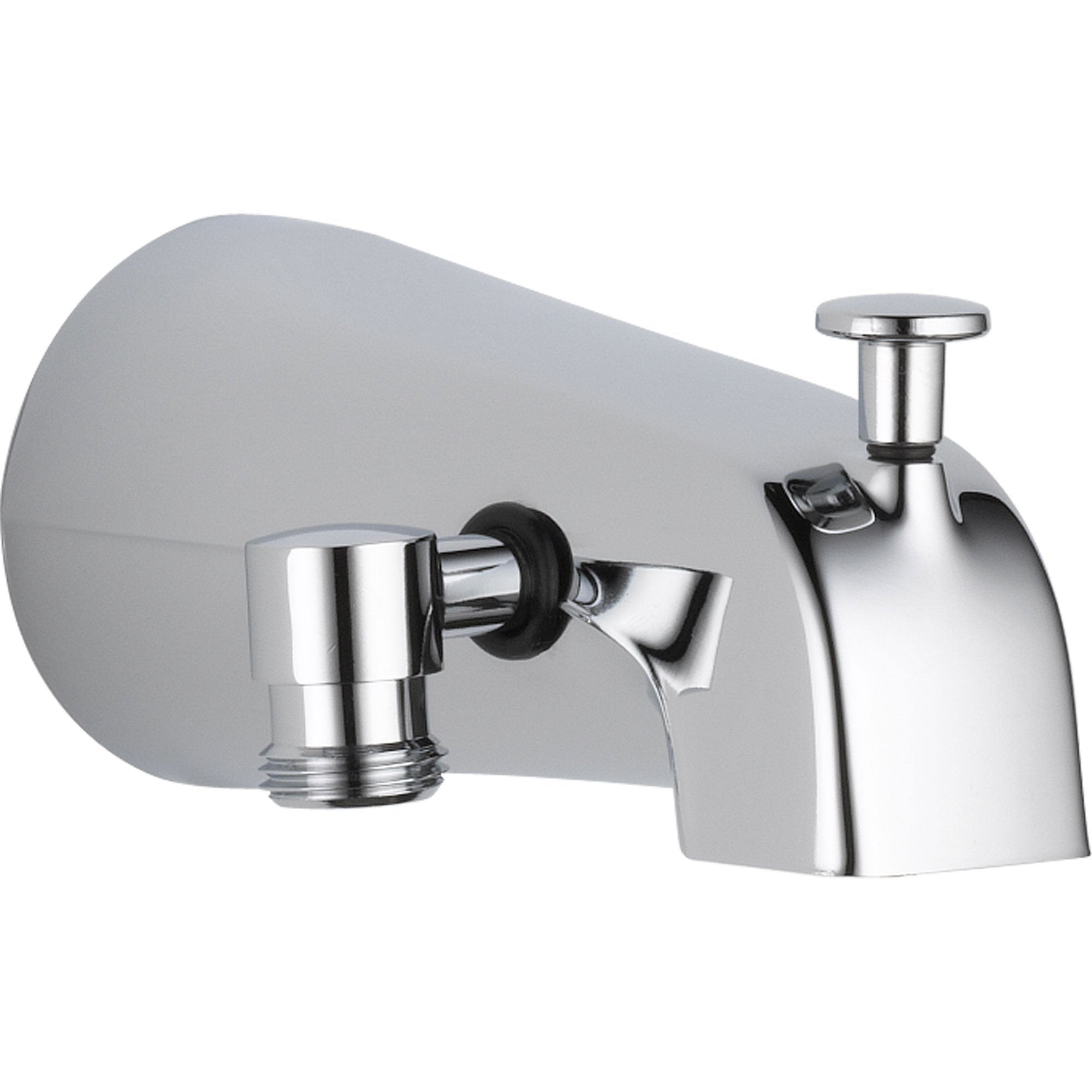 Delta 5.94 In. Long Pull-up Diverter Tub Spout in Chrome 561300