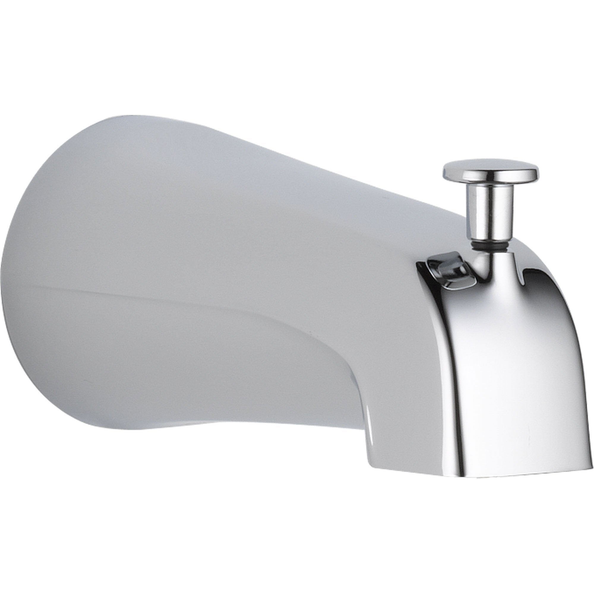 Delta 5.56 In. Long Pull-up Diverter Tub Spout in Chrome 563243
