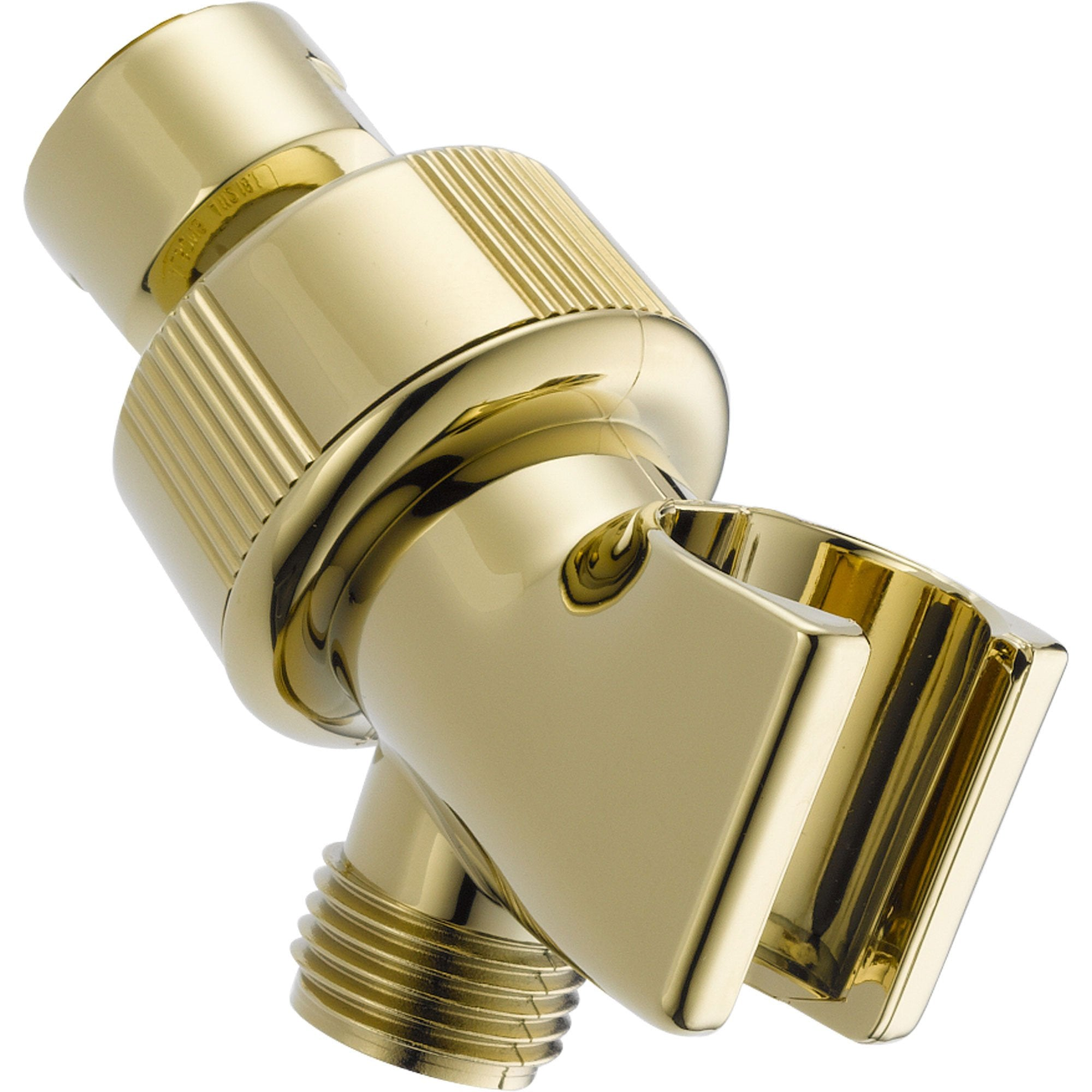 Delta Polished Brass Adjustable Shower Arm Mount for Handheld Shower 561307