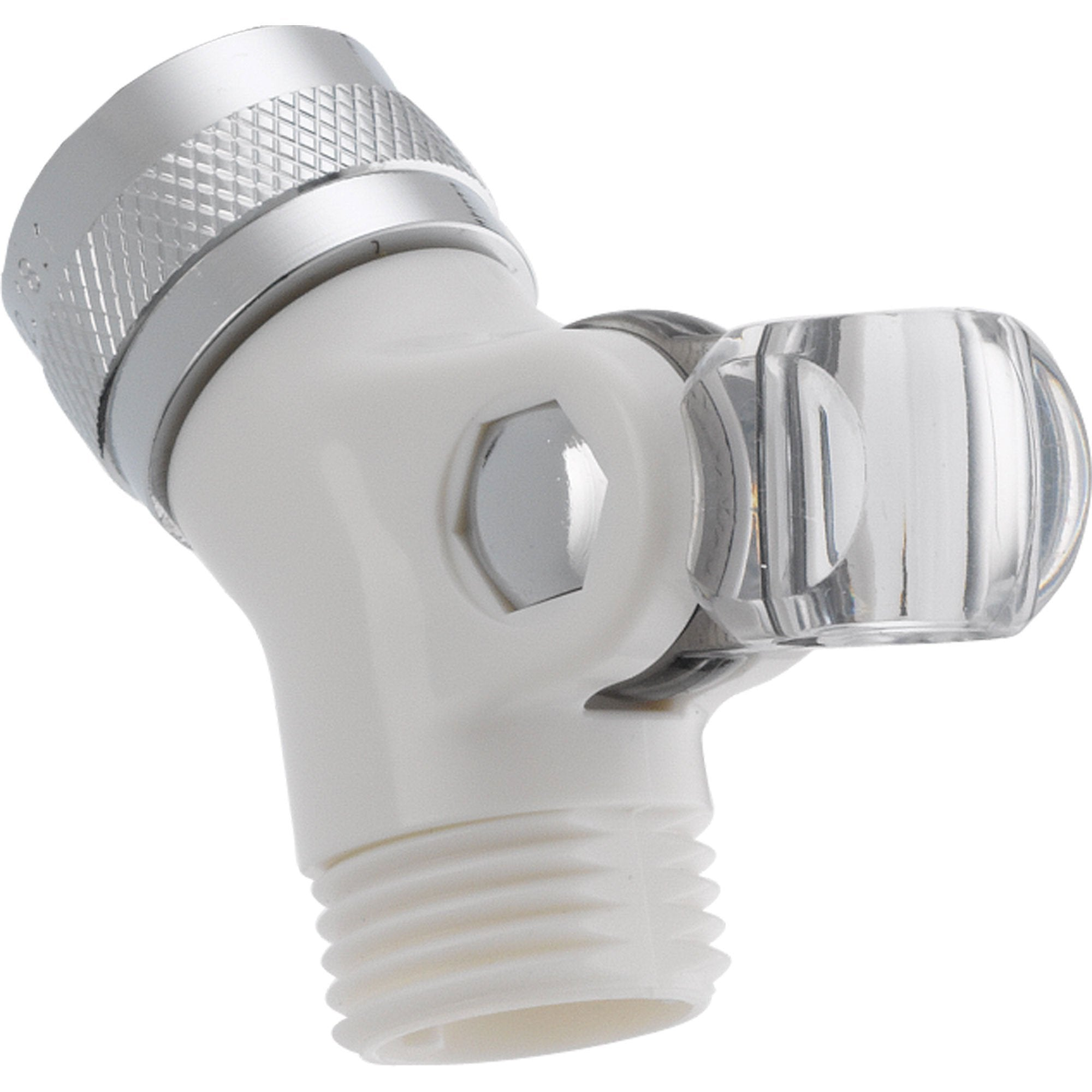 Delta Pin Mount Swivel Connector for Handshower in White 561315