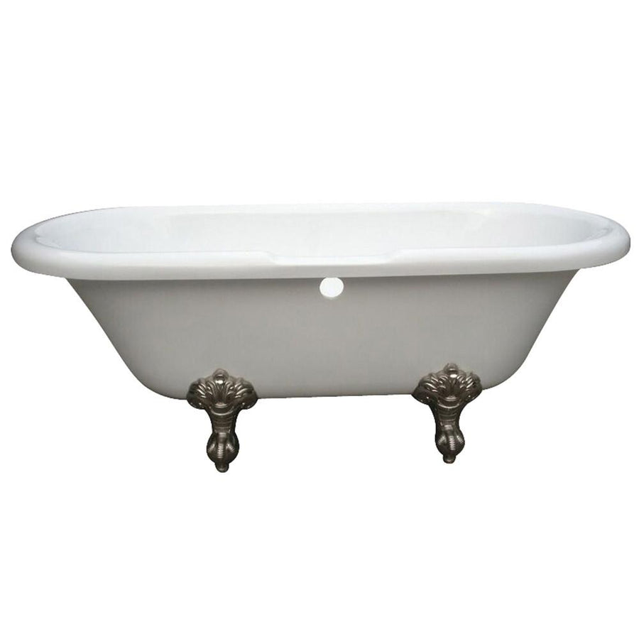 Acrylic Clawfoot Tubs - Get a Vintage Style Freestanding Claw Foot ...