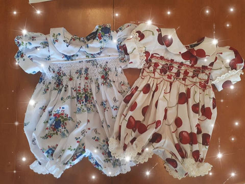 From Smocked Baby Rompers to Flower Girls Dresses