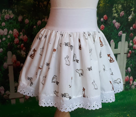 little girls summer skirt