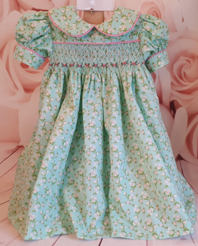 baby girls smocked party dress