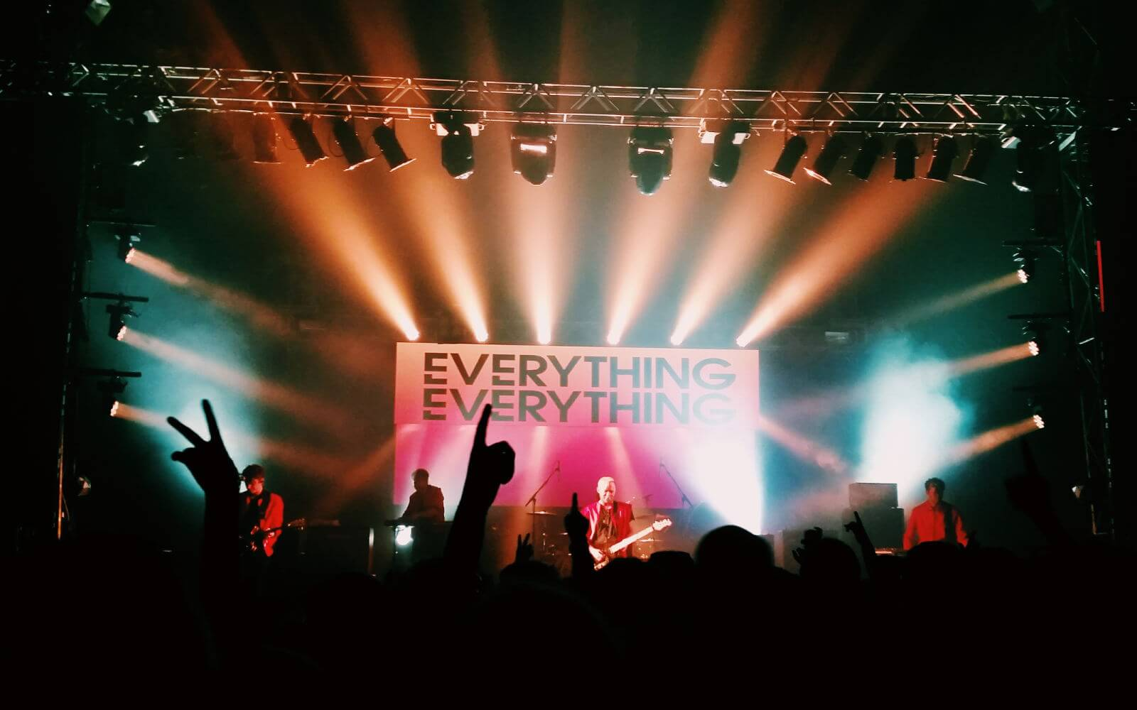 Everything Everything performing at Festival no. 6 2015