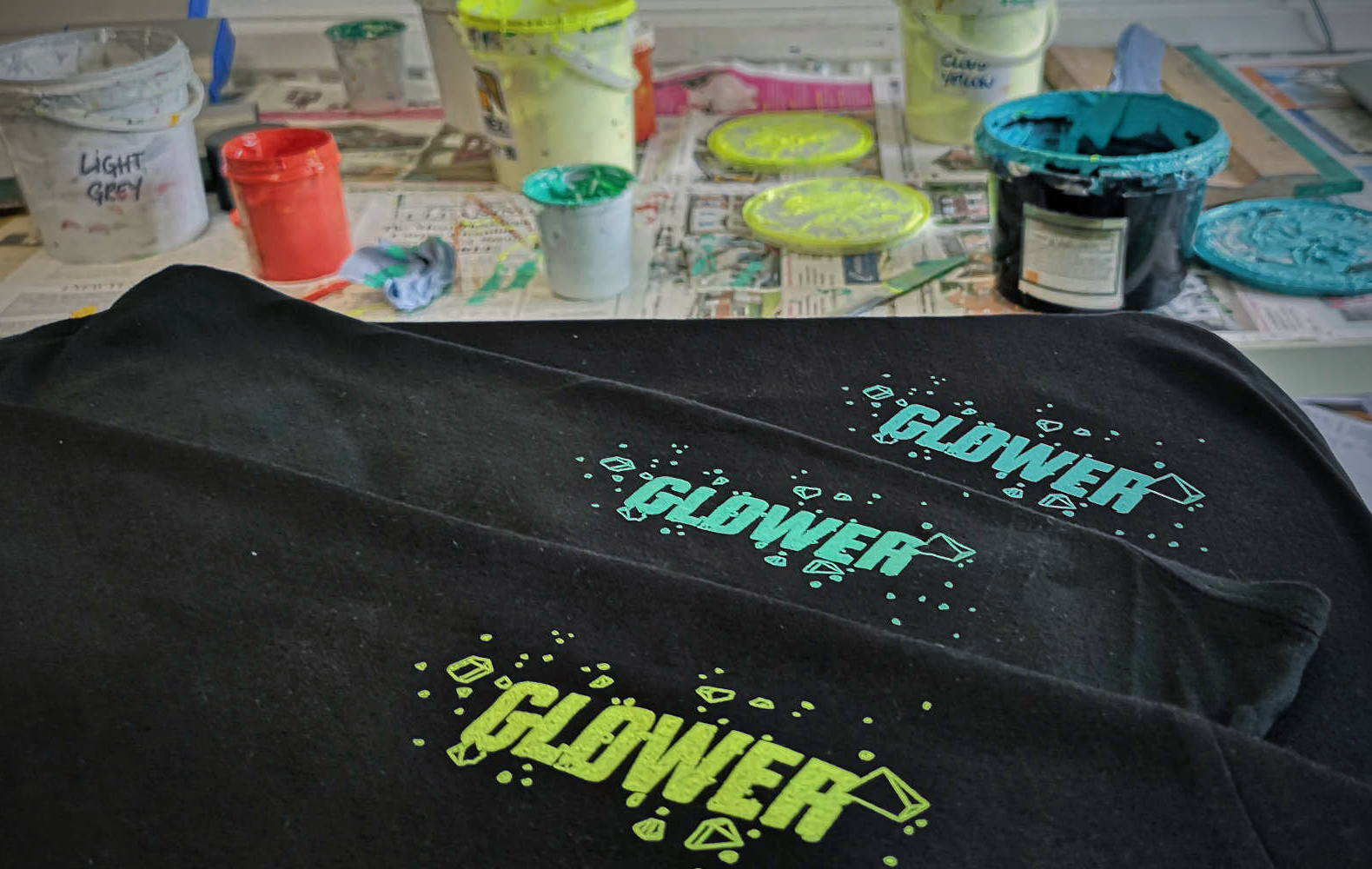 Printing Dust and dirt design mtb jerseys