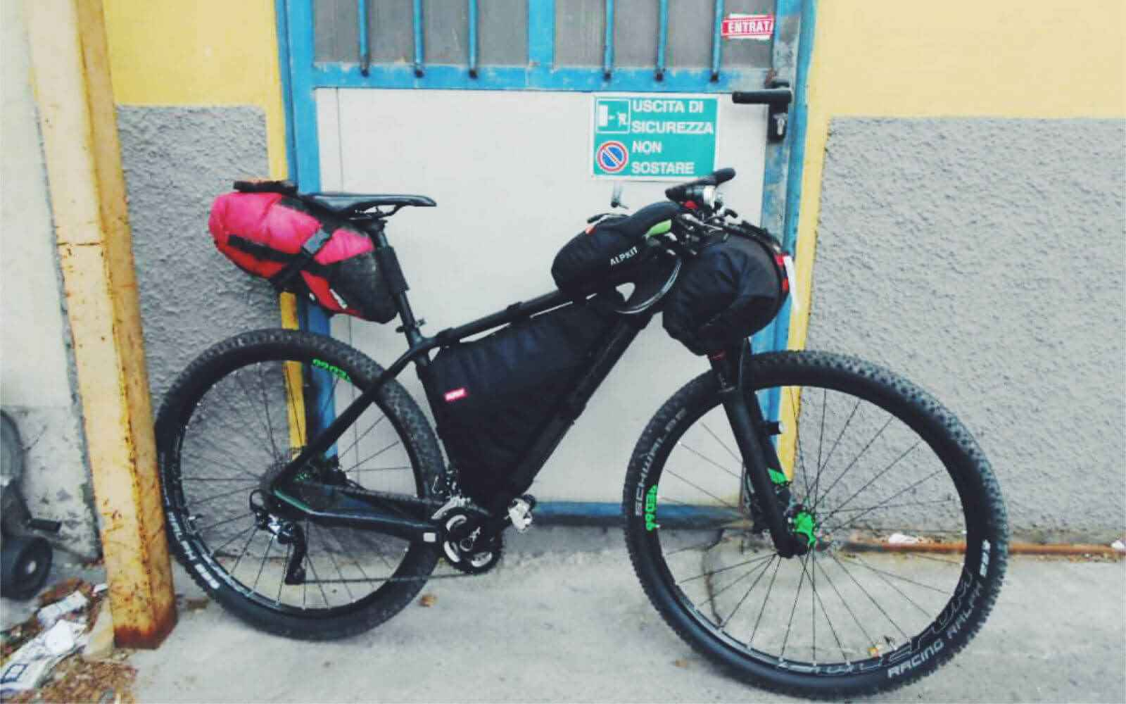 How to pack your bike bikepacking Tuscany Trail