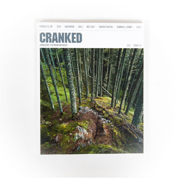 Cranked magazine cover