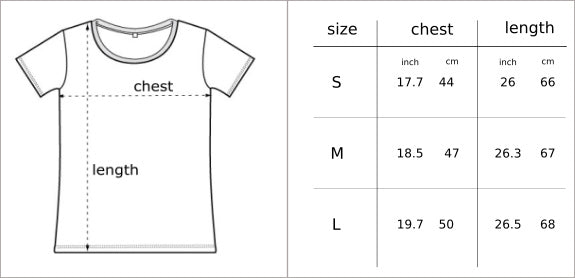 Glower clothing for mtb & snowboard size chart
