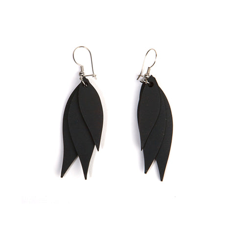 upcycled inner tube earrings paguro