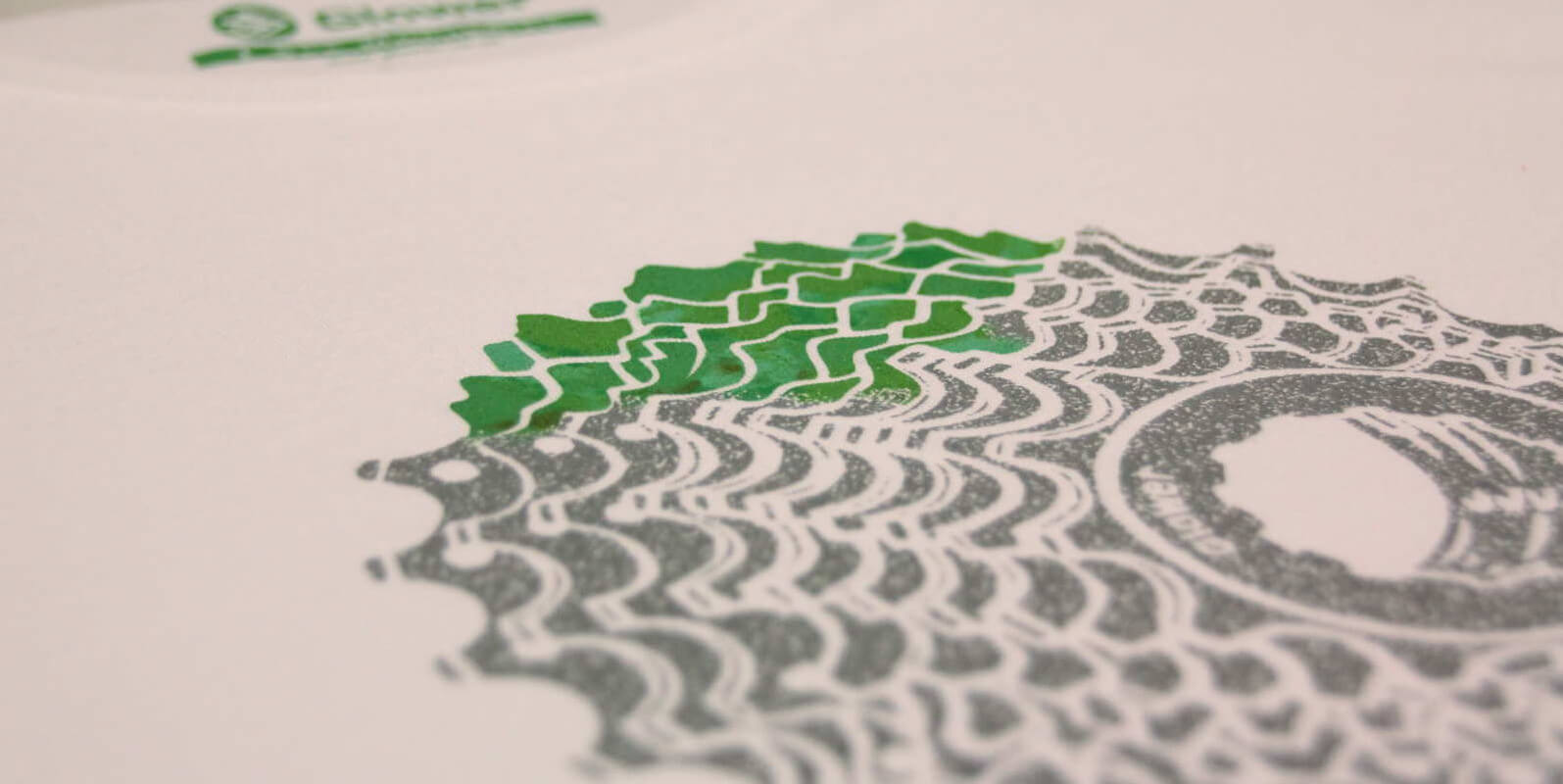 Mountain bike tshirts printed in Glower shop
