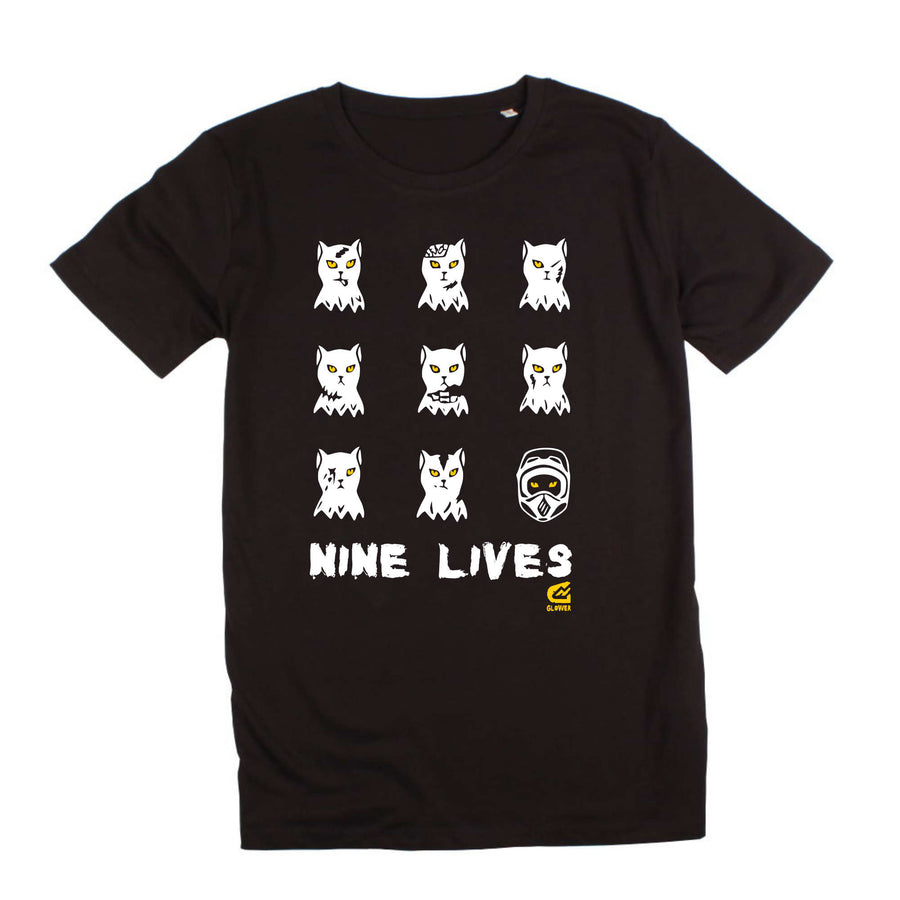 9 Lives Combo -Men's t-shirt & mudguard set