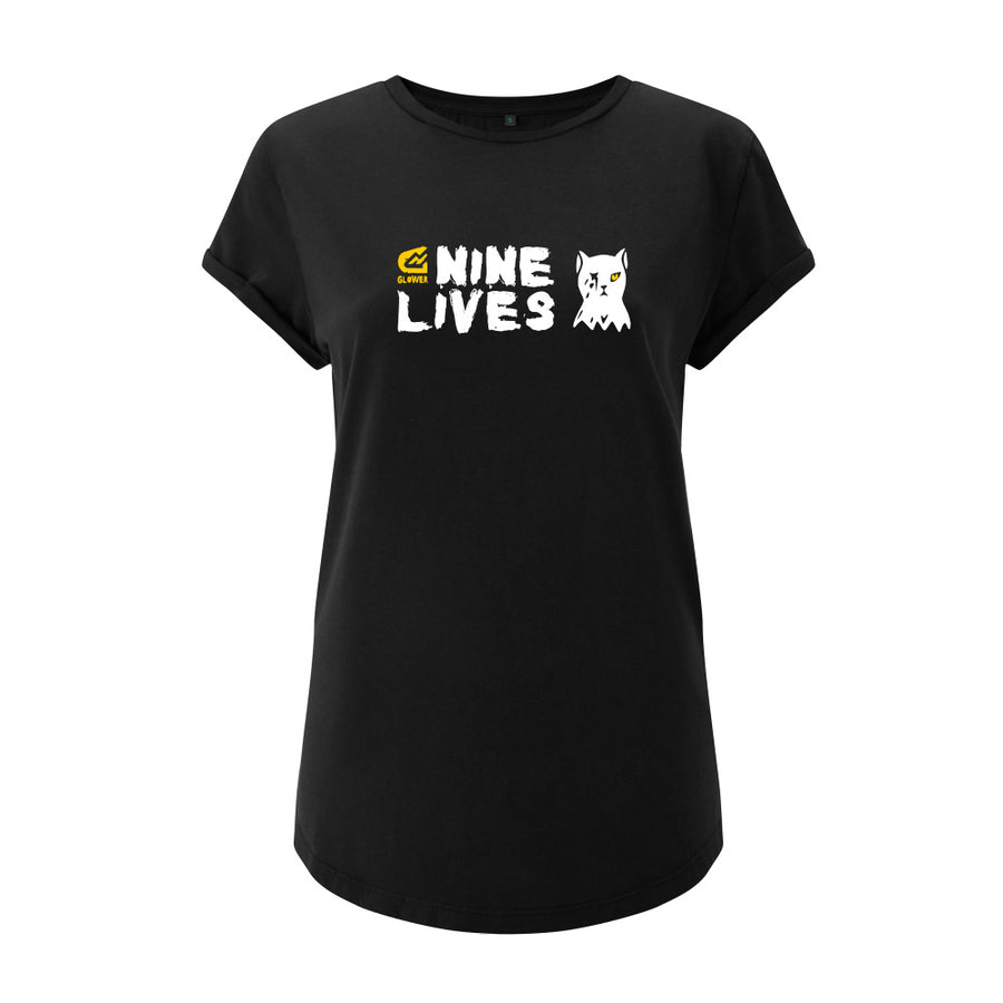 9 Lives Combo - Women's t-shirt & mudguard set