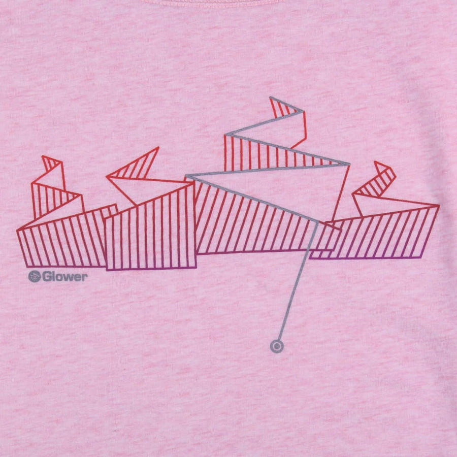 Printed sweatshirt mountain biking design Any Way Down