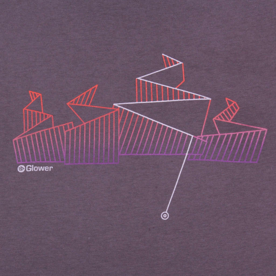 Printed t-shirt mountain biking design Any Way Down