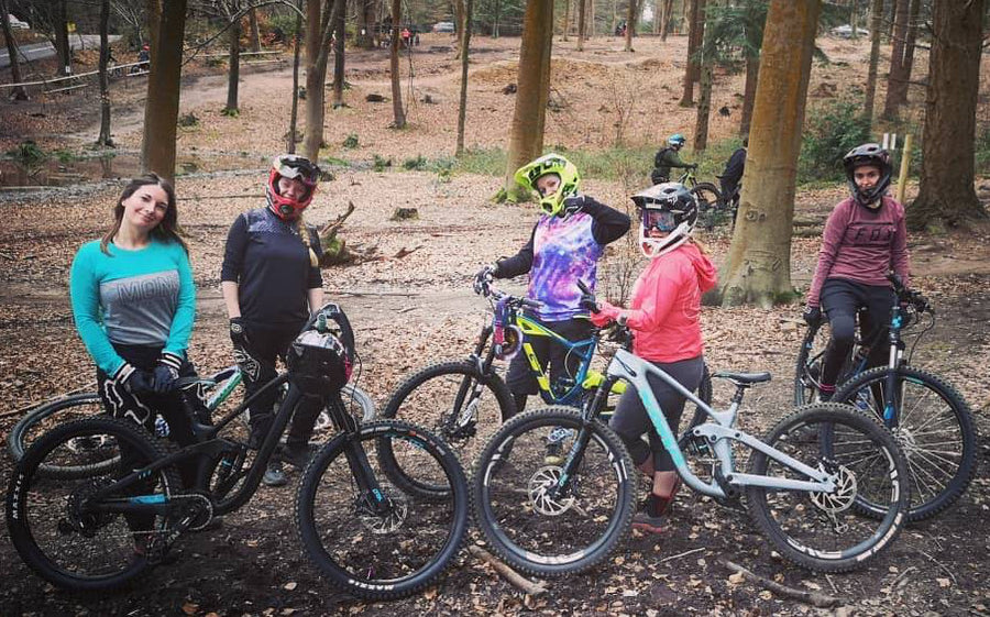 Entry to Glentress Trail Centre Women's riding with Glower & Liz - September 14th