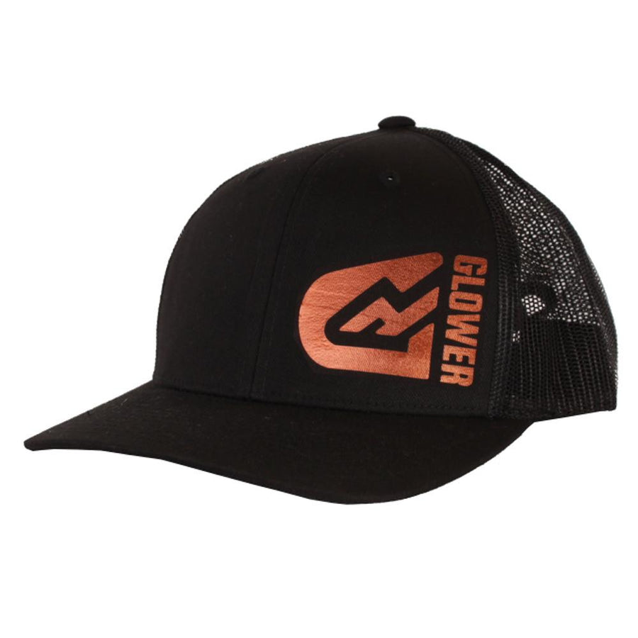 Glower Flexfit Baseball cap Snapback - Copper logo