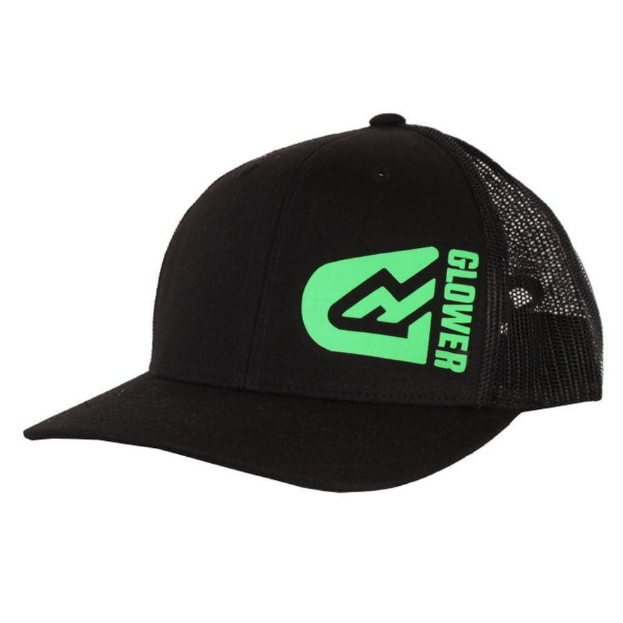 Glower Flexfit Baseball cap Snapback - Green logo