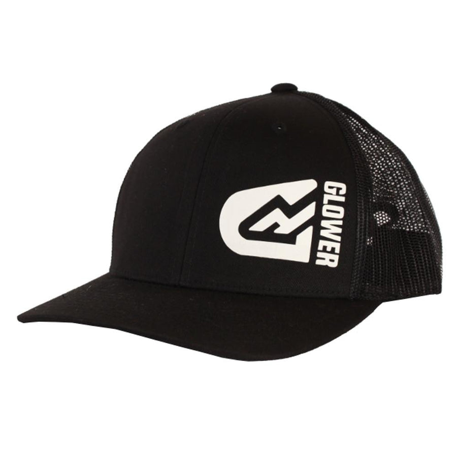Glower Flexfit Baseball cap Snapback - White logo