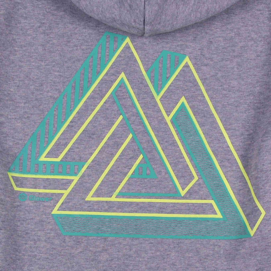 Printed hoodie zip design outdoor mountains Imagine the possible