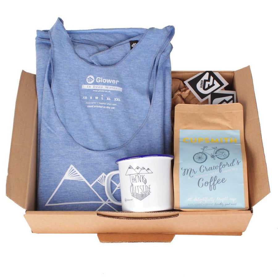 In Deep Water t-shirt & coffee - Combo Gift Box for Women