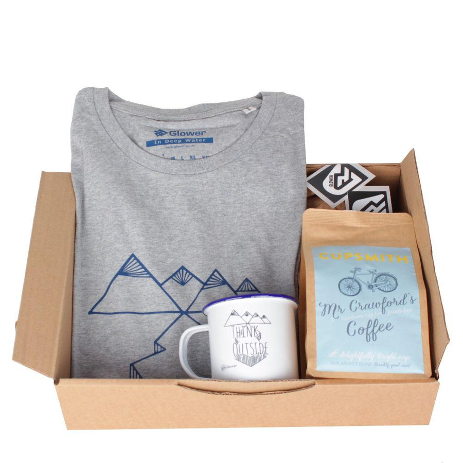 In Deep Water t-shirt & coffee - Combo Gift Box for Men