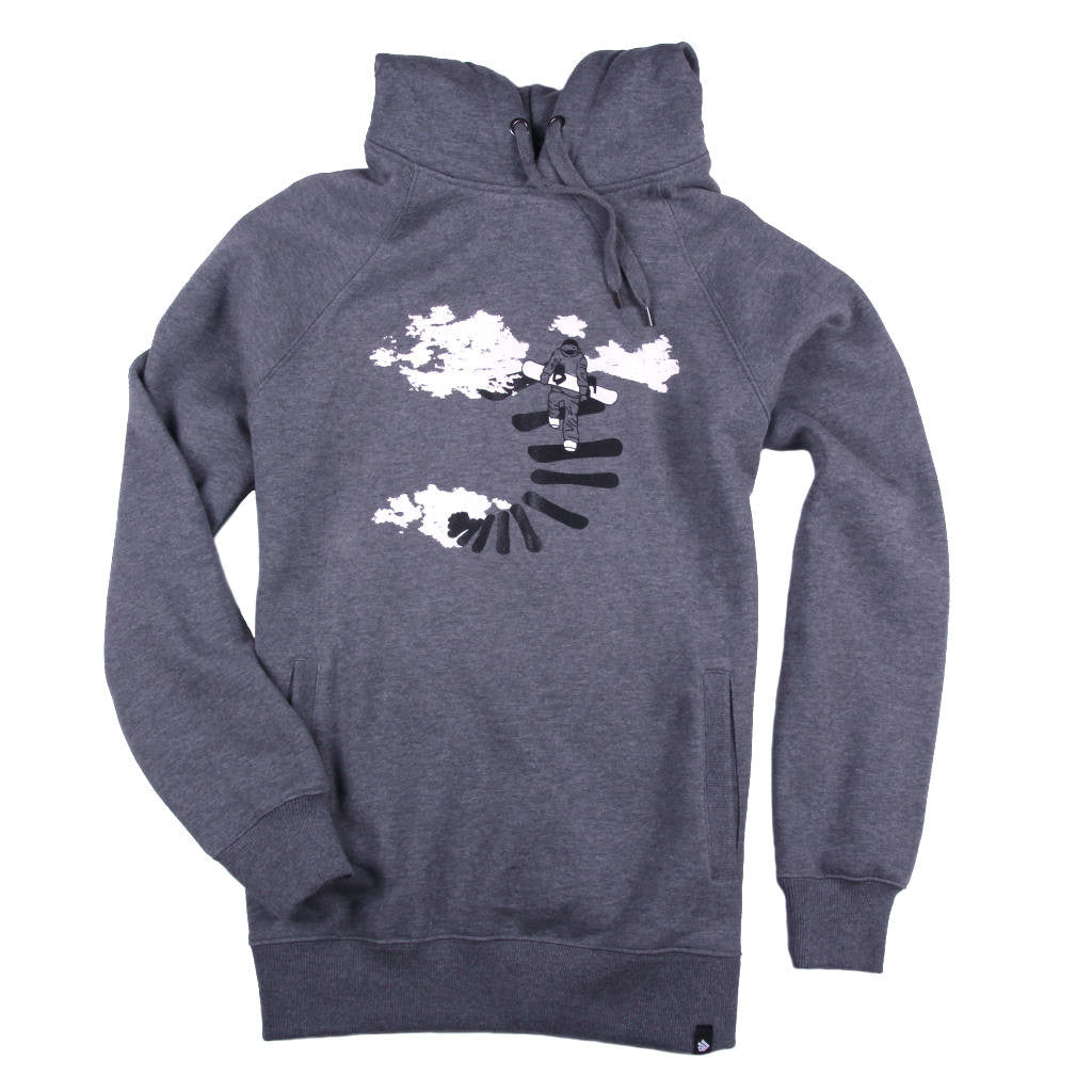 Design your own t shirt hoodie - Printed Hoodie Snowboarding Design Make Your Own Way