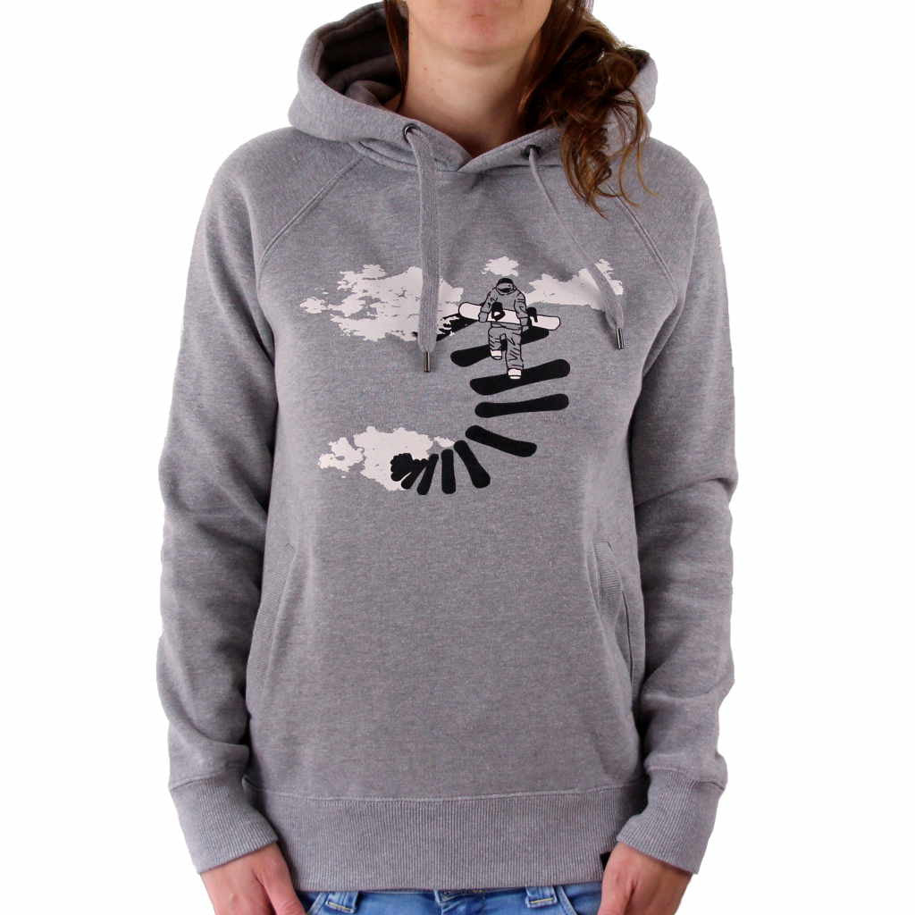 Casual Snowboarding Hoodie Make Your Own Way - Glower Outdoor ... 639ec976f