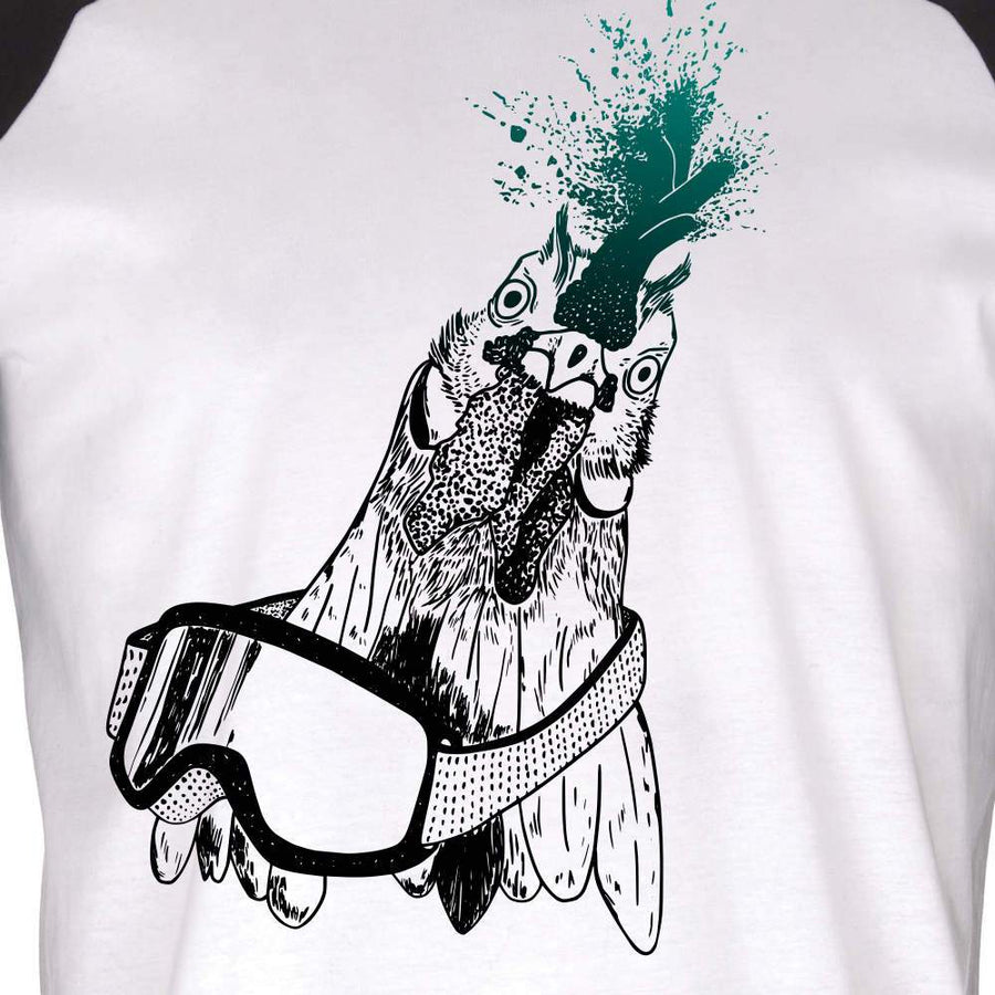 Cheeky Roost- Unisex Baseball Jersey