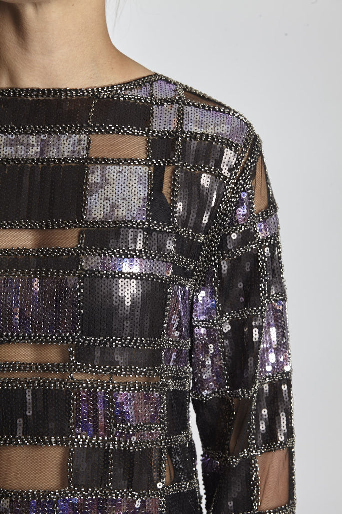 DISCO SQUARE LONG SLEEVE