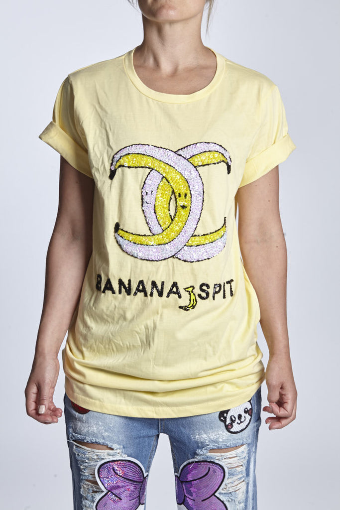 T-shirt banana split - KAYCE.CO