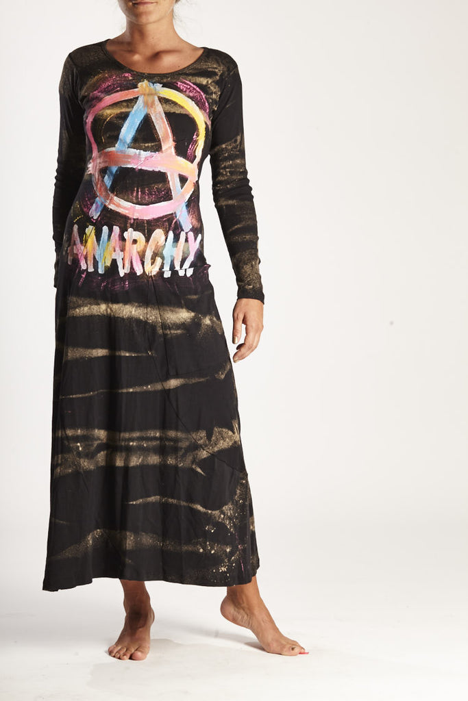 HANDMANDE ANARCHY DRESS
