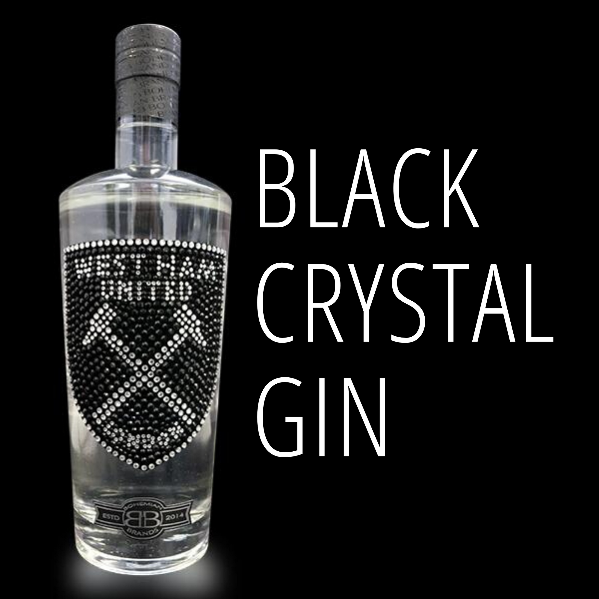 Black Crystal Football Gin