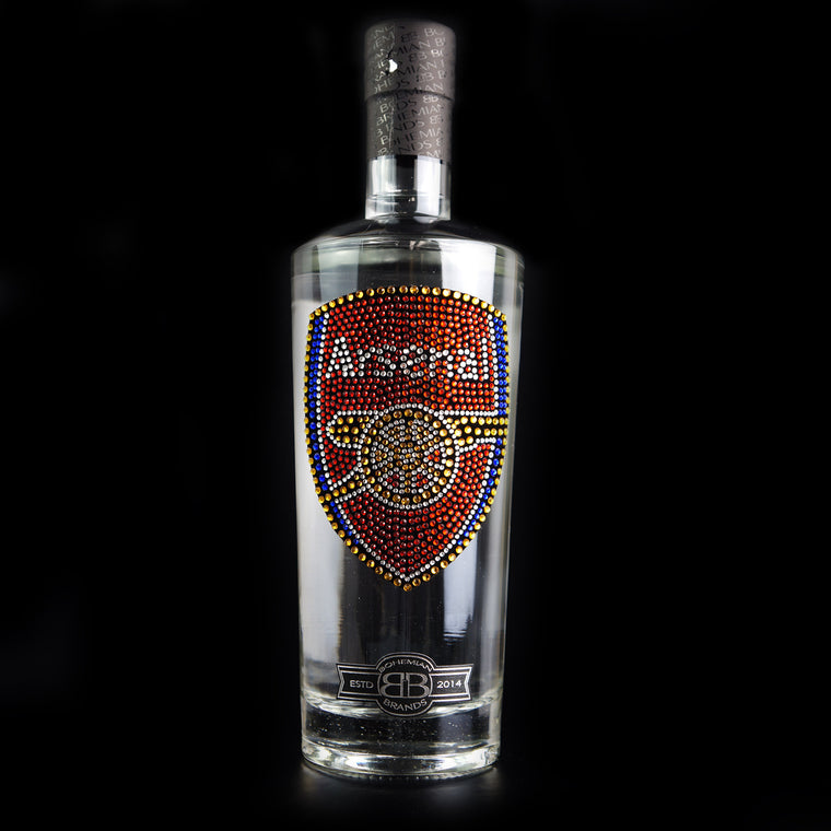 Arsenal FC Vodka - Crystal Edition - Bohemian Brands