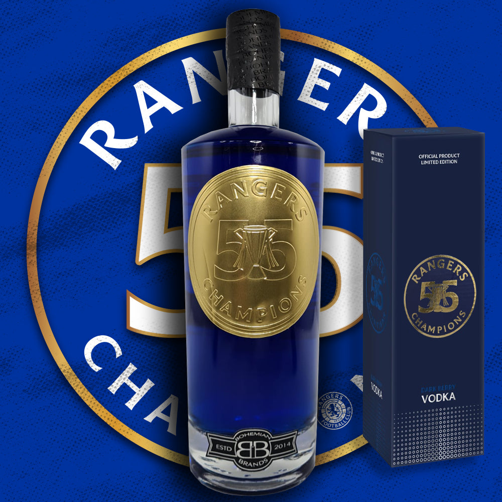 The Official Rangers FC '55' Dark Berry Vodka