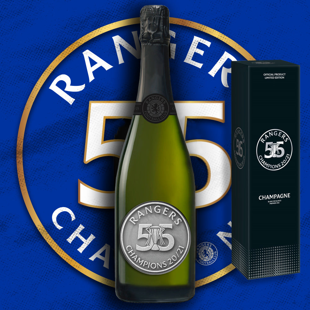 THE OFFICIAL RANGERS FC '55' CHAMPAGNE