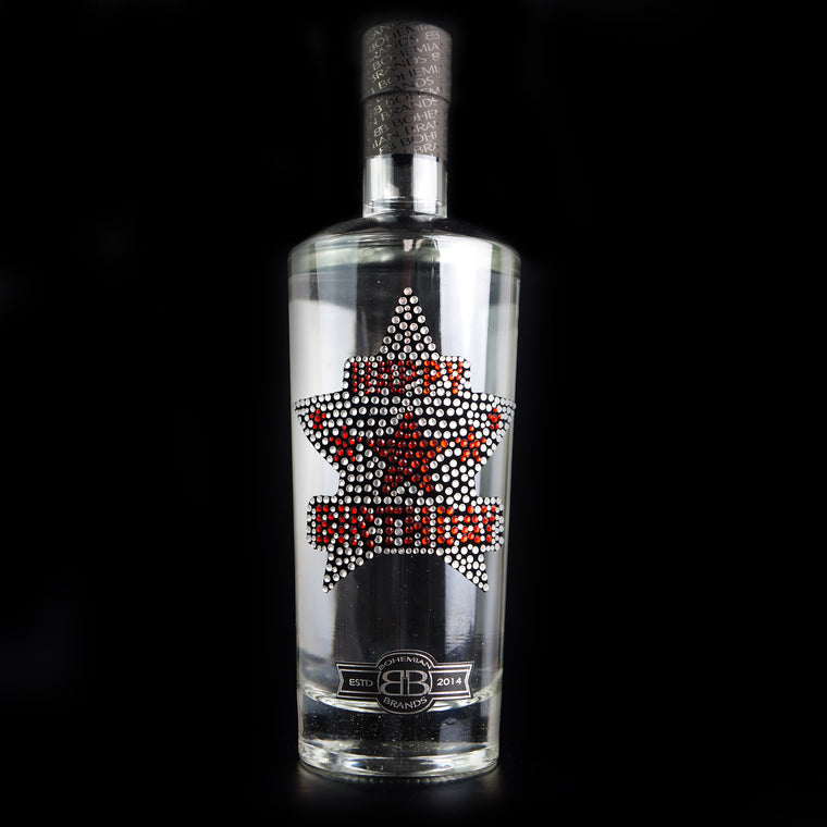 Happy Birthday Vodka - Crystal Edition - Bohemian Brands
