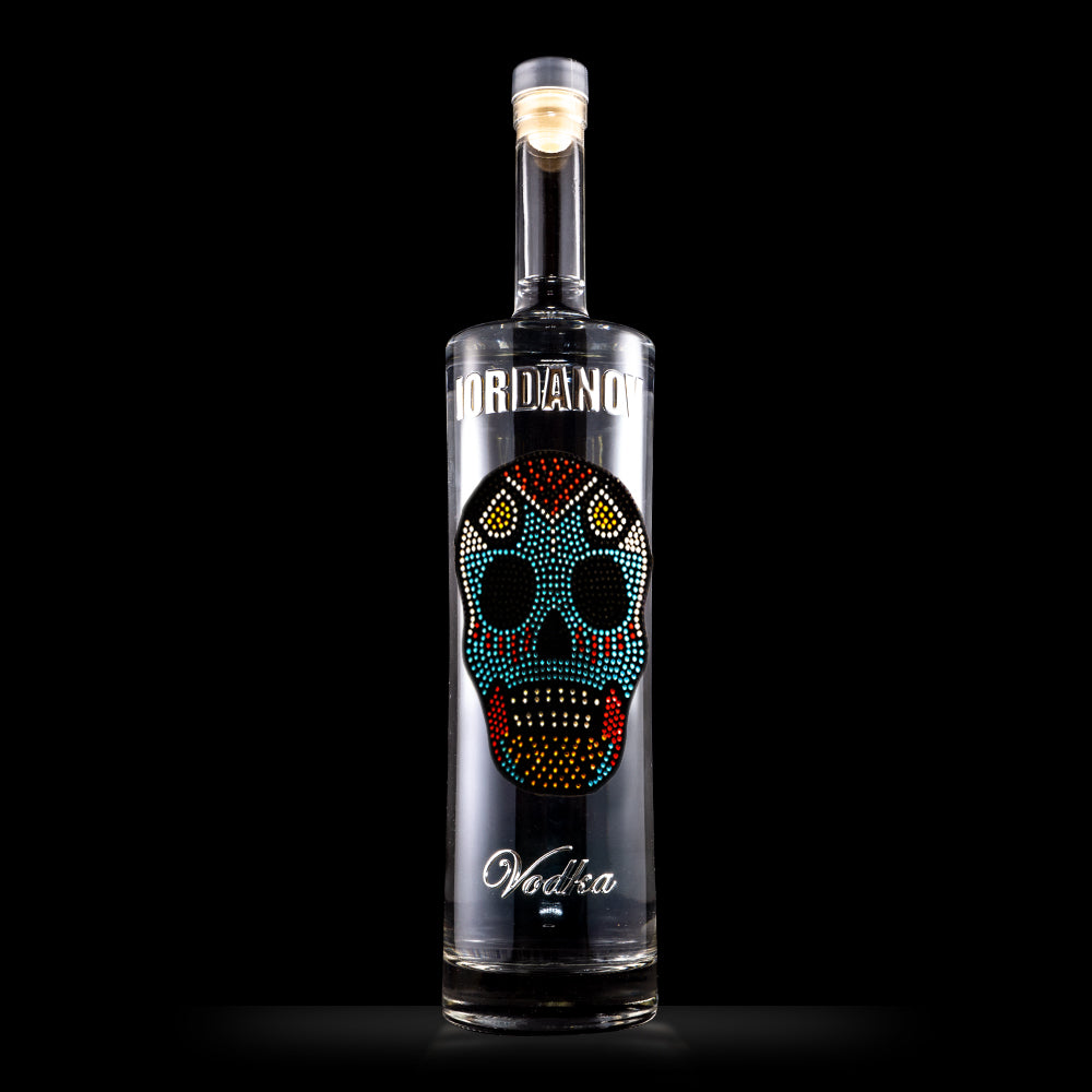 IORDANOV Vodka 1.5 ltr - Day of the dead skull - Bohemian Brands