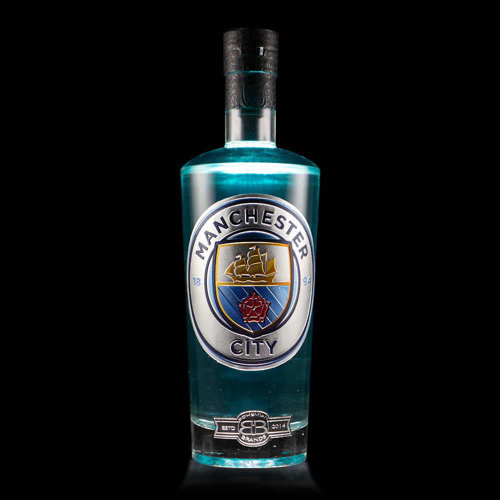 Man City Blue Raspberry Vodka